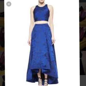 Alice and Olivia matching top and skirt